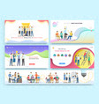 team work together on brainstorming partnership vector image vector image