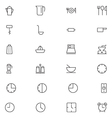 User Interface Icons 9 vector image vector image
