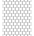 white circles seamless vector image