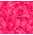 Rose Petals Seamless Pattern vector image