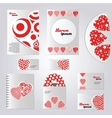 Corporate identity for company or event vector image