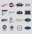 collection of logos fashion accessories