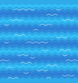 blue sea waves with white foam tops seamless vector image