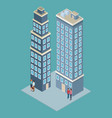 company tower building vector image vector image