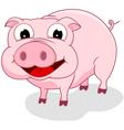 Happy Pig vector image vector image