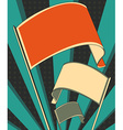 revolution flag poster vector image