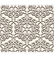 Vintage seamess lace vector image vector image
