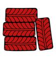 wheel icon cartoon vector image