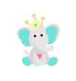 a cute baelephant vector image