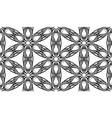 black fabric flower petals flat seamless pattern vector image vector image