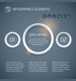 business circle infographic concept vector image vector image