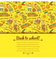 cheerful background with children vector image vector image