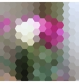 colorful abstract mosaic vector image