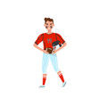 male american football player professional vector image
