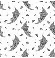 paisley background vintage seamless pattern vector image vector image