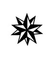 tattoo star stencyl design - ready for print vector image vector image