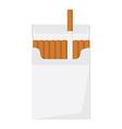 Cigarette pack vector image