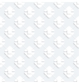 Modern seamless pattern with white geometricheskmi vector image