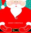 Santa Claus present vector image