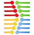 vector stickers vector image