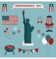4th july independence day united states vector image