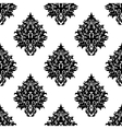 Abstract seamless flourish pattern in damask style vector image vector image
