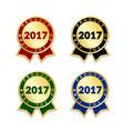 award ribbon best vector image vector image