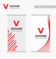 company ads banners with elegent design with vector image vector image