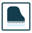 Grand piano icon vector image vector image