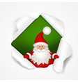 Happy Christmas Poster vector image vector image