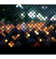 Mosaic neon background vector image