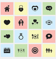 set of 16 editable amour icons includes symbols vector image vector image