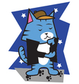Star Cats vector image