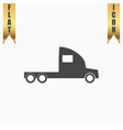 truck without a trailer vector image vector image