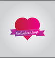 valentine days love vector image