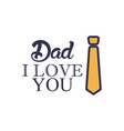 work father day badge sticker logo icon design vector image vector image