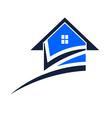 House swoosh vector image