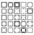art deco frames vector image vector image