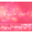 Bokeh and blur abstract background vector image vector image