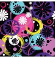 holiday floral background vector image
