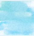 watercolour water texture vector image vector image