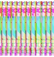 abstract glitch art design background vector image vector image