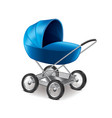 bastroller isolated vector image