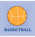 Cartoon basketball vector image vector image