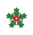 Christmas-Holly-380x400 vector image