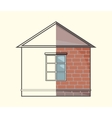 Cottage project vector image