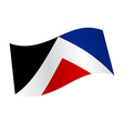 New Zealand flag variation vector image