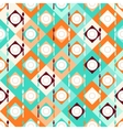Seamless pattern with forks spoons and plates in vector image vector image
