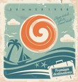 Vintage travel poster vector | Price: 1 Credit (USD $1)