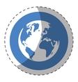 world web technical service icon vector image vector image